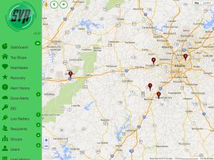 Top Stops Map